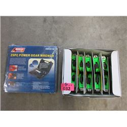 Case of 12 New 12 Foot Tape Measures & More