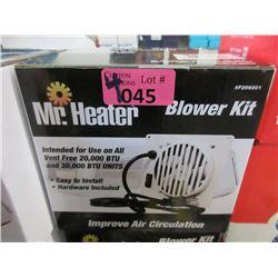 4 New Mr. Heater Blower Kits