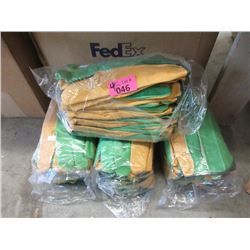 4 Dozen Pairs of Large Work Gloves