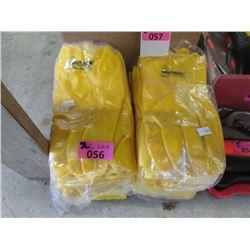 24 Pairs of Medium Watson Industrial Rubber Gloves