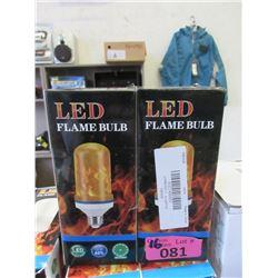 16 LED Flame Effect Light Bulbs