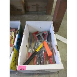 8 New Crowbars, Claw Hammer & Roofing Hammer