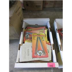 Approximately 40 Packs of Carpet/Tent Pegs