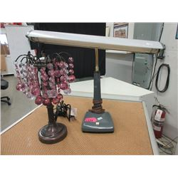 Table Lamp and Vintage Desk Lamp