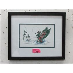 Richard Shorty Framed Print - Loons Mates