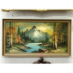 Large Giclee Landscape Painting