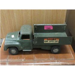 1950s Buddy L Army Surplus Corps Truck