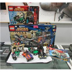 LEGO Sets #6864 and #76004 with Manuals & Boxes