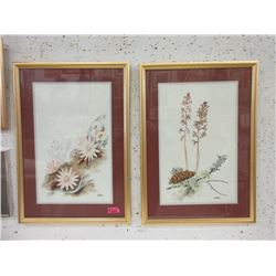 2 L. Bohn Original Watercolour Paintings