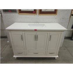 New Composite Top Vanity with Sink