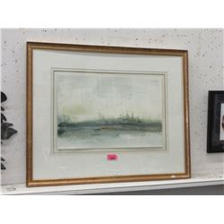Marjorie Pigott Framed Watercolour Painting