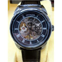 New Mans Invicta 2-Window Skeleton Watch