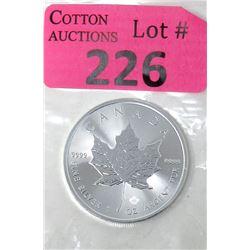 1 Oz Canada .9999 Silver Maple Leaf Coin