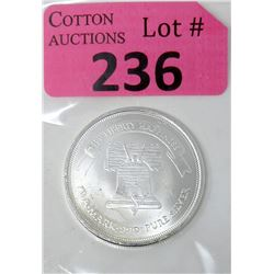 1 Oz. Liberty Silver .999 Silver Round