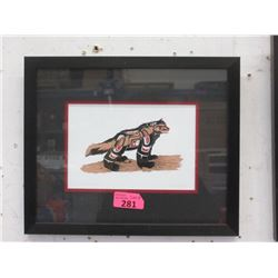 Richard Shorty Framed Print - Wolverine