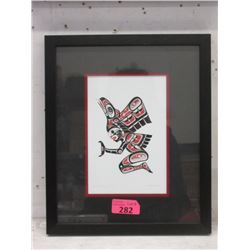 Richard Shorty Framed Print-  Transformation