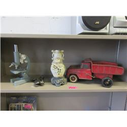 Shelf Lot of Collectibles