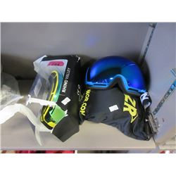 4 Pairs of Assorted New Ski Goggles