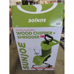 Sunjoe Electric Wood Chipper / Shredder - 15 Amp