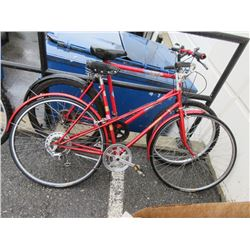 1 Raleigh and 1 Mountain Tour Bicycles