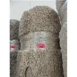 8' x 10' Beige Shag Area Carpet - Store Return