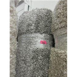 "8' x 10"" Grey Speckled Shag Area Carpet"