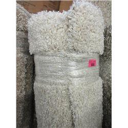 5' x 7' White Shag Area Carpet - Store Return