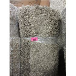 5' x 7' Brown Speckled Shag Area Carpet