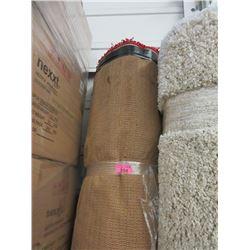 8' x 10' Oval Red Shag Area Carpet - Store Return
