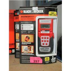 Box of 2 New Black & Decker Distance Measurers