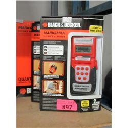 Box of 2 New Black & Decker Distance Measures