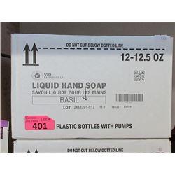 Case of 12 x 12.5 Oz Basil Liquid Hand Soap