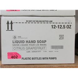 Case of 12 x 12.5 Oz Citrus Grapefruit Hand Soap