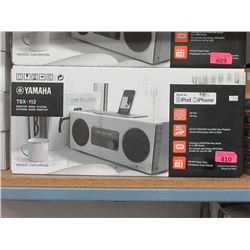 New Yamaha TSX-112 Desktop Audio System