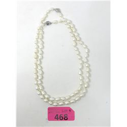 2 Genuine Freshwater Pearl Necklaces