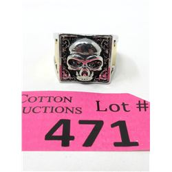 Men's New Poison Ring - Hidden Compartment