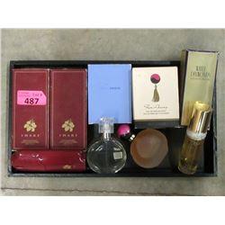 5 Bottles of Eau De Parfum & Eau De Toilette