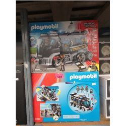 2 Playmobil 9360 City Action Sets