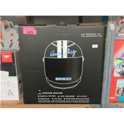 Carrol Shelby Racing Helmet Coffee Maker