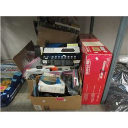 4 Boxes of Assorted Store Return Electronics