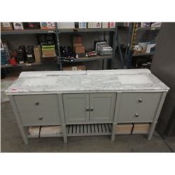 "New Cypress Hills Forsythe 72"" Vanity with Sinks"