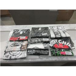 10 Assorted New Band T-Shirts - Assorted Sizes