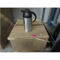 """Case of 12 New 8"""" Thermal Carafes"""