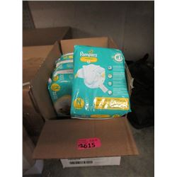 12 Packages of 20 Pampers Swaddlers Diapers