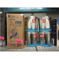 Coffee Mate & illy Coffee - 5 Piece Lot
