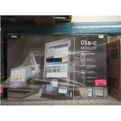 """AOC I1601FWUX 16"""" USB-C Monitor"""