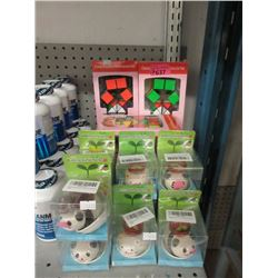 7 Puzzle Toys & 10 Watering Animal Planters