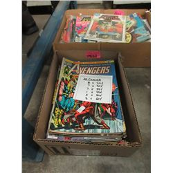 20 Assorted 20 - 60 Cent Comics