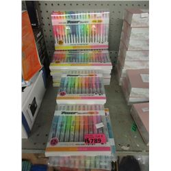 15 Packages of Powerline 2500 Highlighters