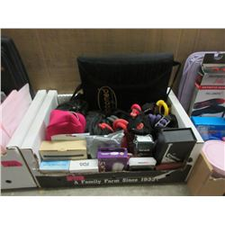 Box of Exercise and Household Goods